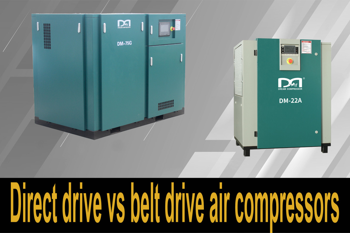 Direct drive vs belt drive air compressors