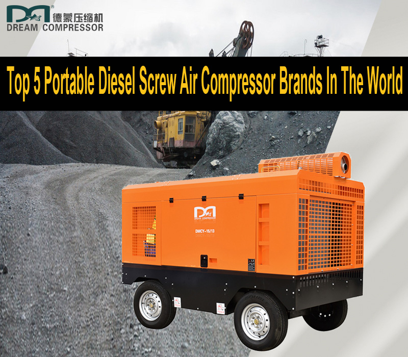 Top 5 Portable Diesel Screw Air Compressor Brands In The World