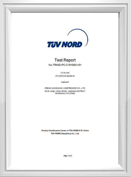 Test report 8573-1 IND-PC-C1810001