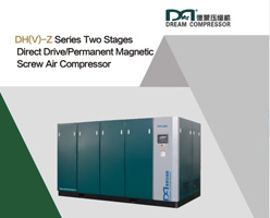 Two Stage Direct Drive Screw Air Compressor Brochure