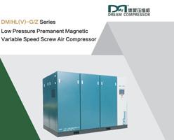 Low Pressure PM VSD Screw Air Compressure Brochure