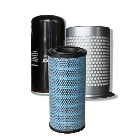 Three filters