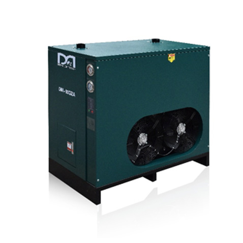High temperature refrigerated air dryer