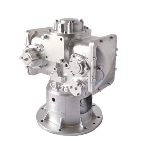 Water-lubricated screw air end