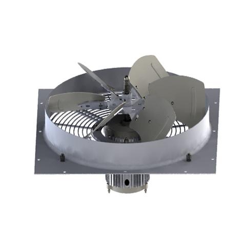 Internal rotor fan