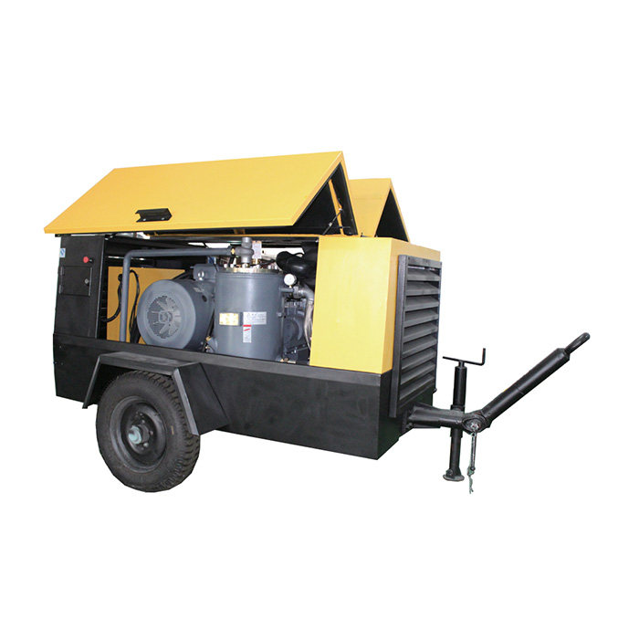 Electrical Portable Screw Air Compressor (8-18 bar)