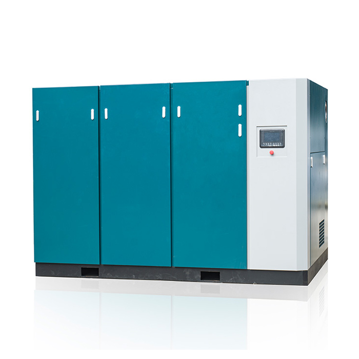 Two Stage Low Pressure Permanent Magnetic Variable Speed Screw Air Compressor (PM VSD)