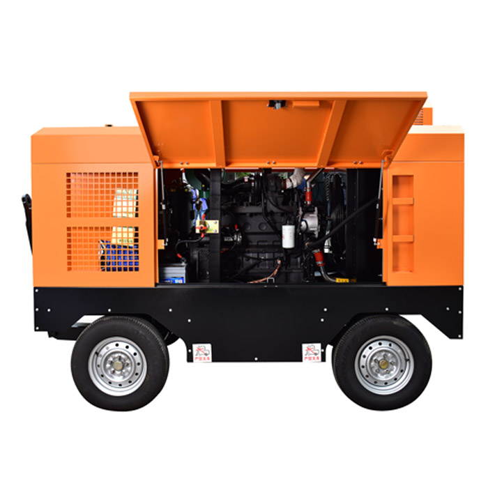 Diesel Portable Screw Air Compressor(8-35 bar)
