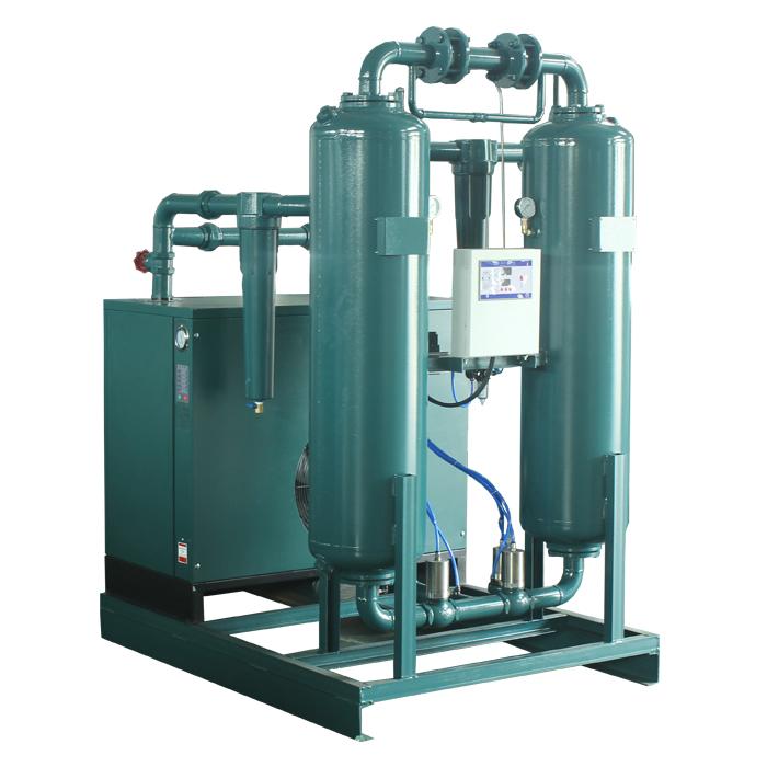 Micro-Heat Regeneration Desiccant Air Dryer